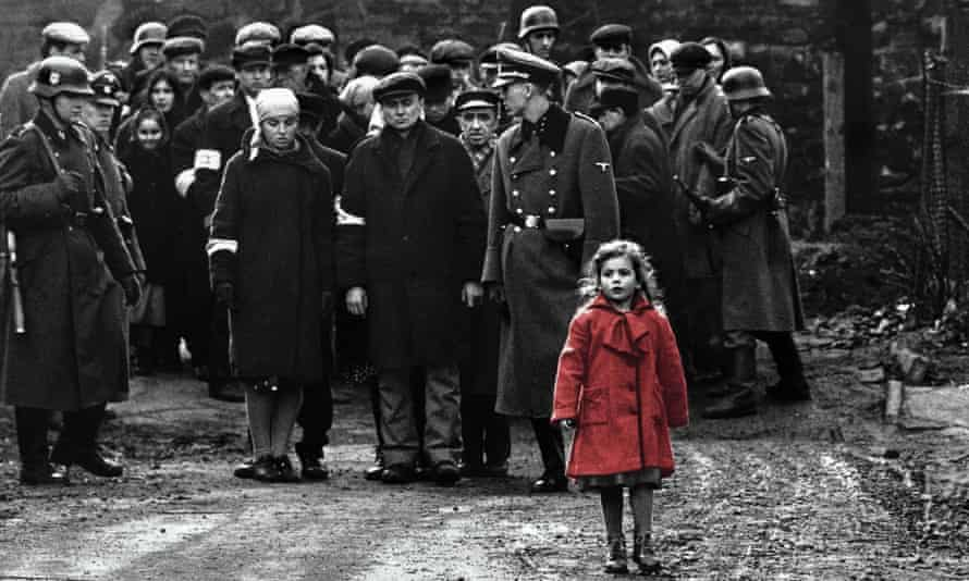 Researchers suggest that maybe the wringing your feelings get from watching an emotional film such as Schindler's List triggers the endorphin system.