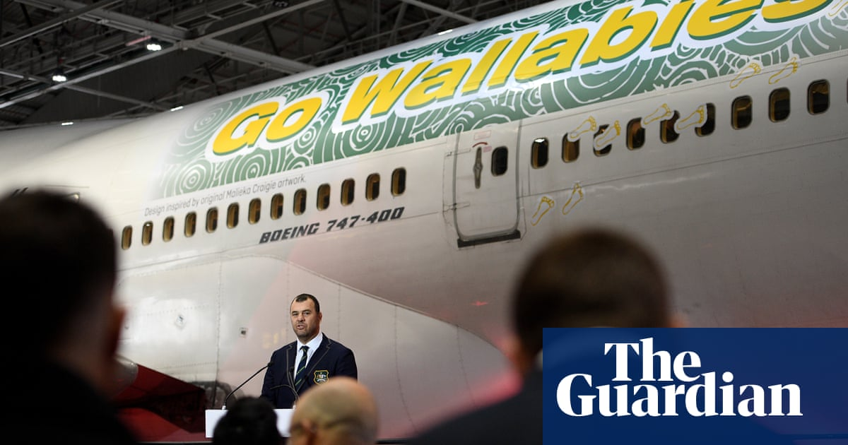Australia's departure for Rugby World Cup delayed by Typhoon Faxai