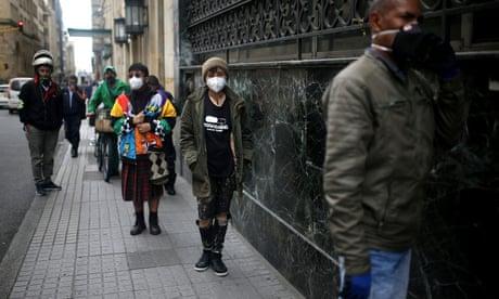 'Separation by sex': gendered lockdown fuelling hate crime on streets of Bogotá