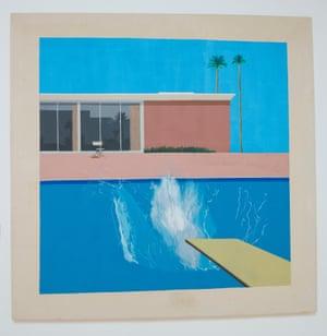 And the original … David Hockney's A Bigger Splash, at Tate Britain.