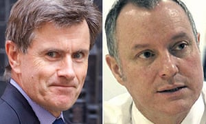 Former MI6 chief Sir John Sawers and ex-GCHQ director Sir Iain Lobban