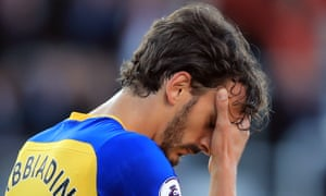 Manolo Gabbiadini is heading back to Sampdoria, where he played between 2013-2015, after an unhappy spell at Southampton