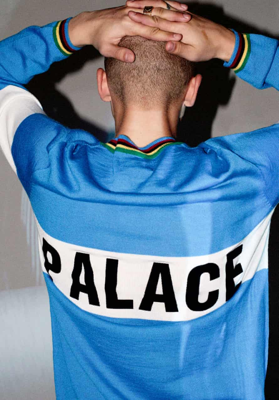 A tracksuit top for Palace SS16