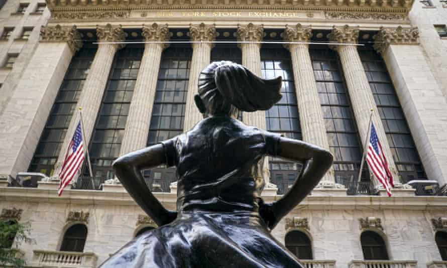 'Fearless Girl' bronze sculpture