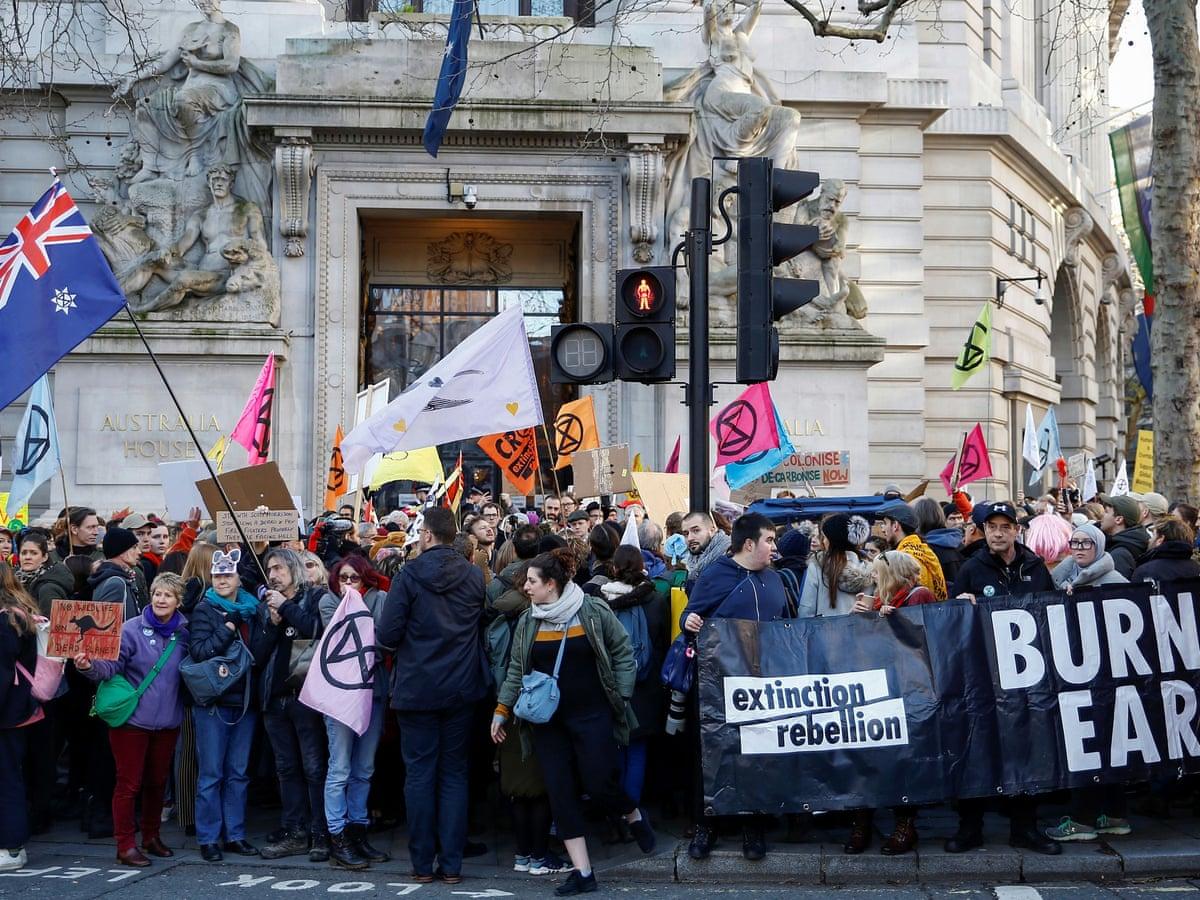 Terrorism police list Extinction Rebellion as extremist ideology | UK news  | The Guardian