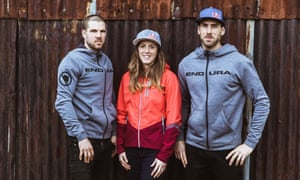 Dan (left), Rachel and Gee Atherton. 'Dan nurtured us into it, he had this drive and this passion,' says Gee.