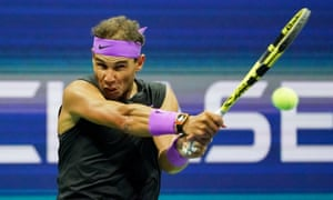 Rafael Nadal at the US Open