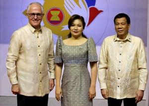 Turnbull and Duterte