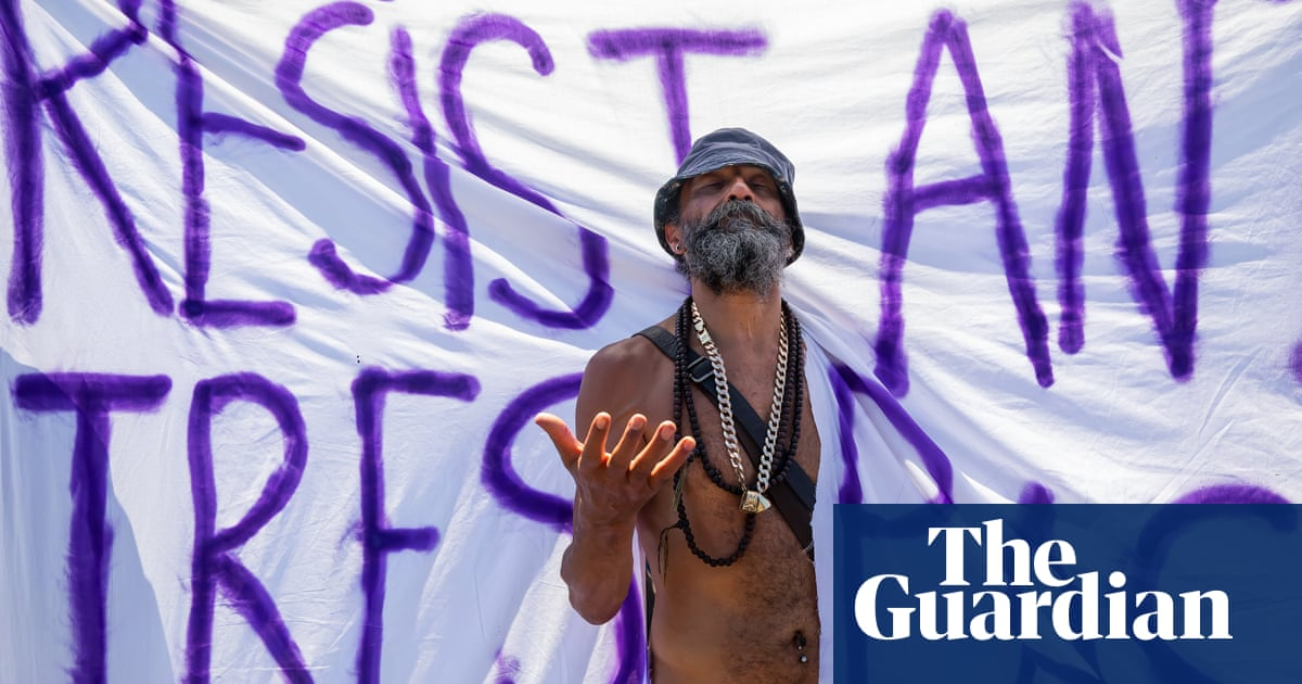 Promises and protests at the G7 in Cornwall – photo essay