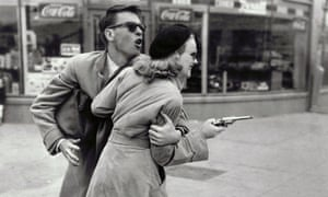 John Dall and Peggy Cummins in Gun Crazy, 1950, directed by Joseph H Lewis, released by United Artists.
