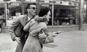 Peggy Cummins and John Dall in Gun Crazy, a key inspiration for 1967's Bonnie and Clyde.