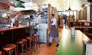 Photograph of 40 Maltby Street restaurant