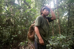 The Javari reserve. Javari leaders fear a dramatic deterioation.