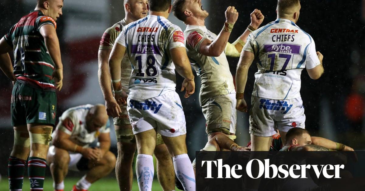 Rob Baxter has Exeter primed for backlash in crunch Saracens clash