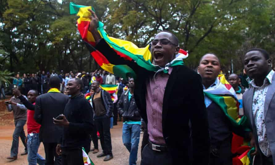 """Supporters of """"ThisFlag campaign""""."""