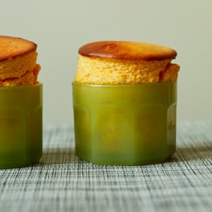 Now, was that so hard? Tamal Ray's passion fruit souffle.