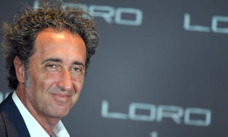 Italian director Paolo Sorrentino in Rome while promoting new film Loro.