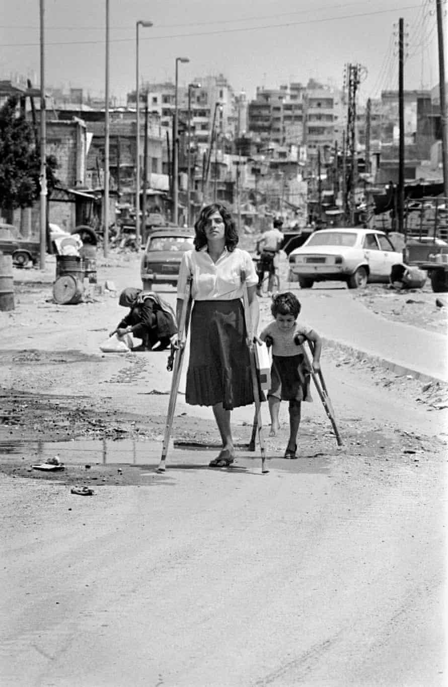 The photograph of Samar Baltaji by Maher Attar in 1985.
