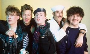 Frankie Goes to Hollywood in 1984.