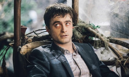 Daniel Radcliffe (seen here in Swiss Army Man) is set to play an angel in Miracle Workers