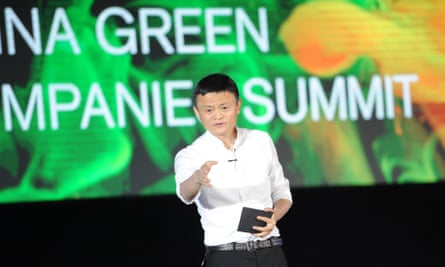 Jack Ma issued the warning to encourage businesses to adapt or face problems in the future.