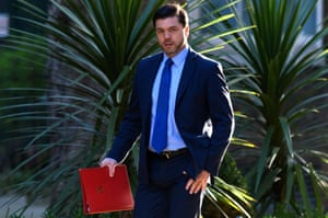 Secretary of State for Work and Pensions Stephen Crabb.