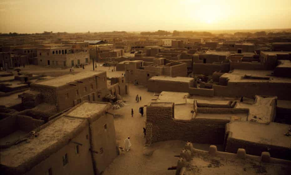 Timbuktu, Mali: a city with medieval manuscripts 'so numerous that no one really knows how many there are'.