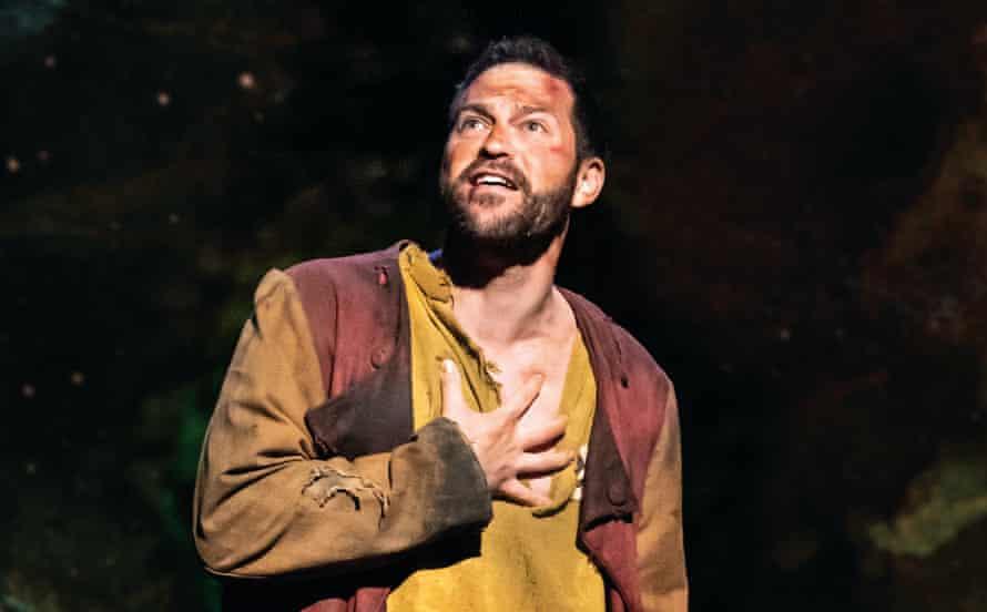 Depth, strength and tenderness … Jon Robyns as Jean Valjean.