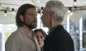 Bradley Cooper, Lady Gaga and Sam Elliott in A Star is Born.