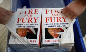 Michael Wolff's Fire and Fury was an early pacesetter of the trend for books on US politics, selling 5 million copies to date.