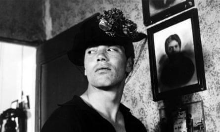 Franco Citti in Pasolini's Accattone.
