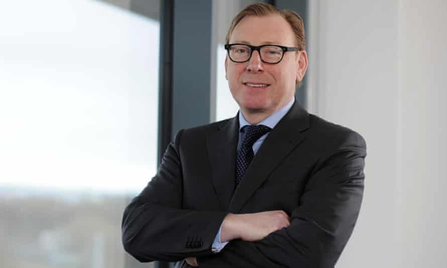 Tesco bank chief executive Benny Higgins