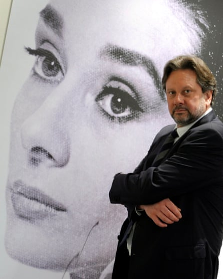 Sean at an exhibition about his mother in Berlin, 2009.