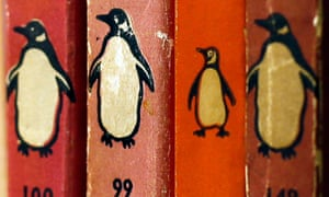 Numbers games … old Penguin books in a secondhand bookshop.