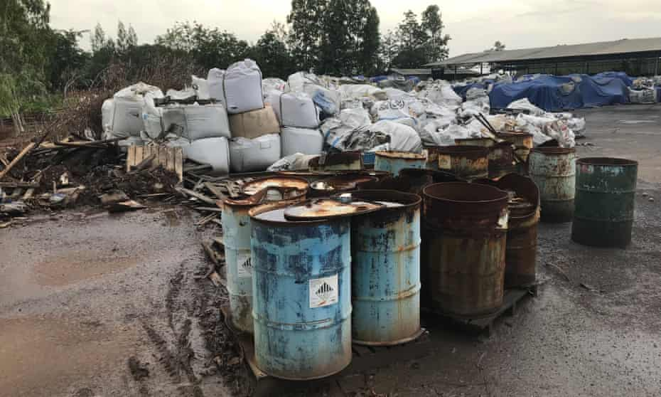 Australian e-waste was tracked by investigators from the Basel Action Network to an illegal dump-yard in a rural part of Thailand.