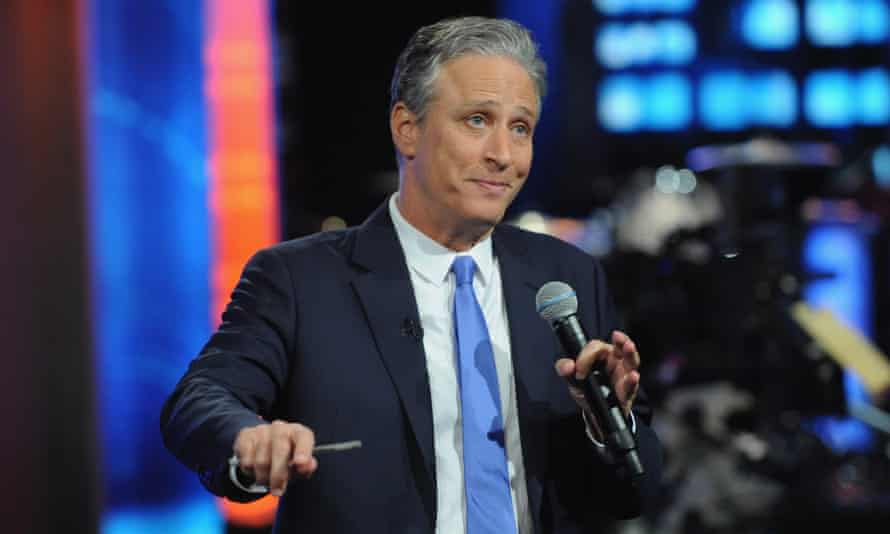 """""""The Daily Show With Jon Stewart"""" #JonVoyageNEW YORK, NY - AUGUST 06: Jon Stewart hosts """"The Daily Show with Jon Stewart"""" #JonVoyage on August 6, 2015 in New York City. (Photo by Brad Barket/Getty Images for Comedy Central)"""