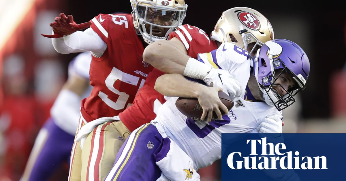 San Francisco 49ers overwhelm Vikings to reach NFC championship game