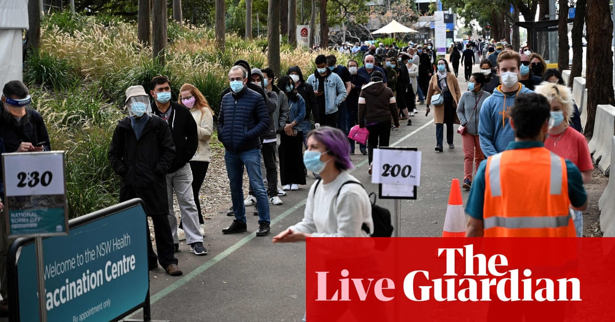 Australia politics live: Labor calls for cash for Covid jabs as parliament returns; Westmead hospital worker tests positive