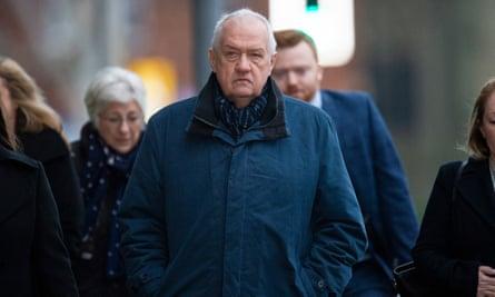David Duckenfield arrives at Preston crown court