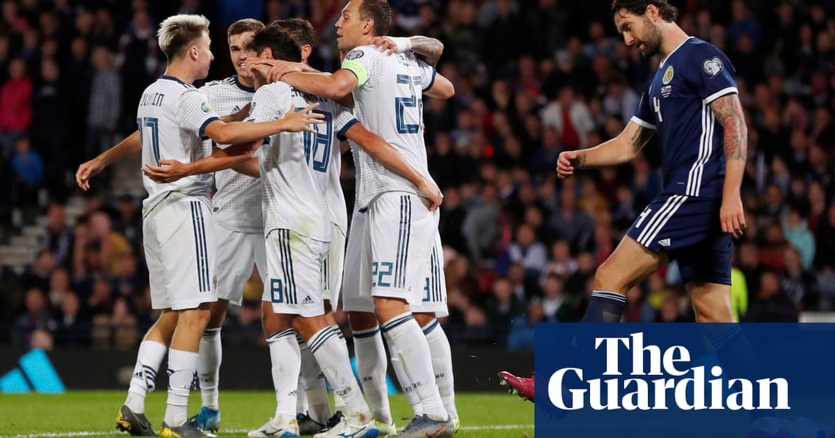 Scotland left reliant on play-offs after O'Donnell own goal boosts Russia