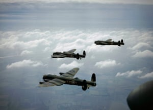 Avro Lancasters of the 44 (Rhodesia) squadron in September 1942