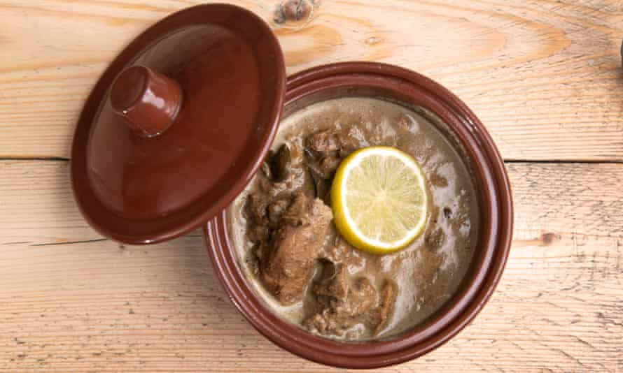 'Just eight portions for sale a day': clay-pot fish dish.