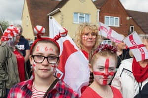 West Bromwich patriots on St George's Day.