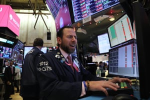 Traders work on the floor of the New York Stock Exchange (NYSE) on December 06, 2018 in New York City.