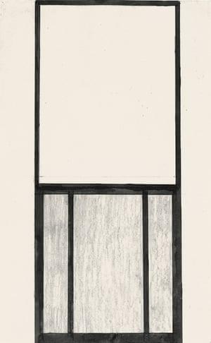 Study for Window, Museum of Modern Art, Paris, 1949.