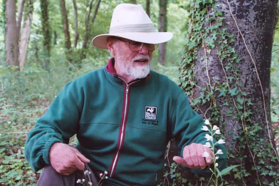 Richard Hedley, a former teacher, became volunteer warden of the Chappett's Copse nature reserve, near West Meon, Hampshire