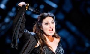 Anna Caterina Antonacci as Cassandra in Les Troyens at the Royal Opera House (2012)