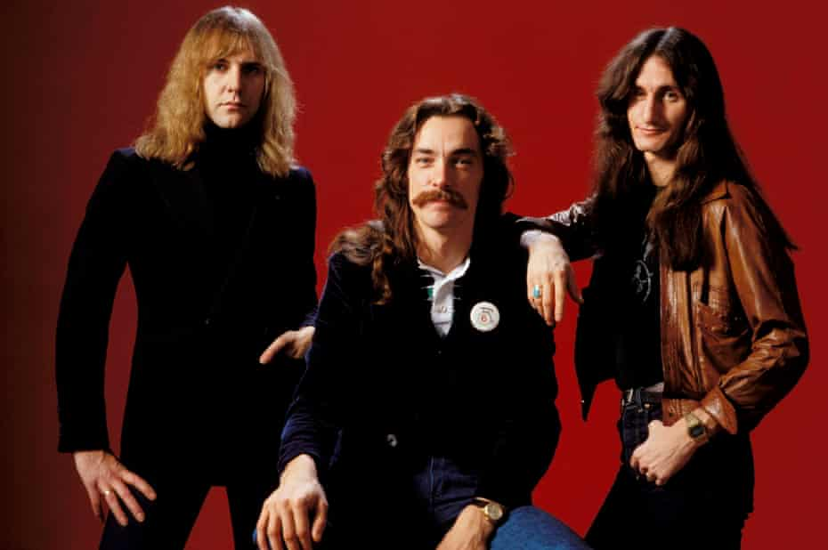 Neil Peart, Alex Lifeson and Geddy Lee.