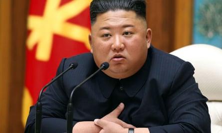 Kim Jong-un (pictured in April)