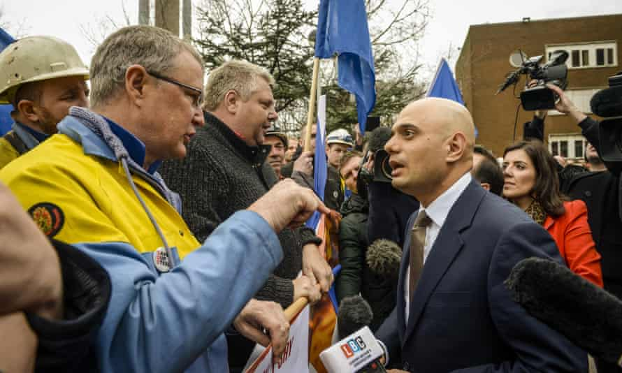 Sajid Javid on visit to Port Talbot after Tata announcement